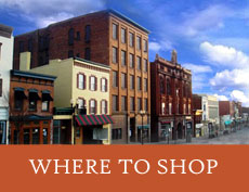 Where to Shop Downtown