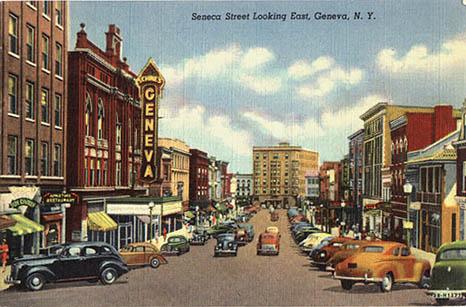 Historic Photos Of Downtown Geneva New York 14456